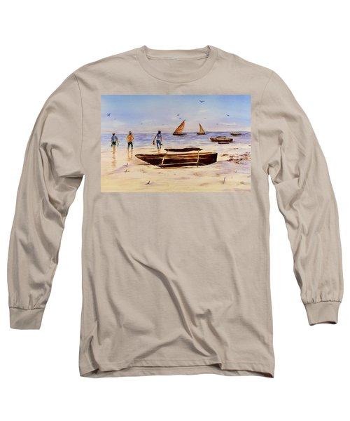 Zanzibar Forzani Beach Long Sleeve T-Shirt