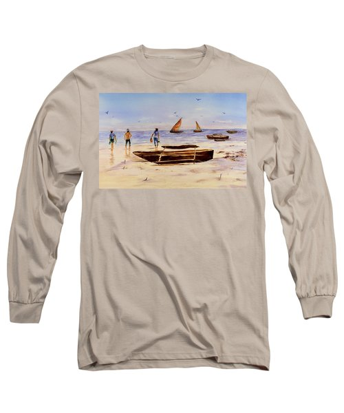 Zanzibar Forzani Beach Long Sleeve T-Shirt