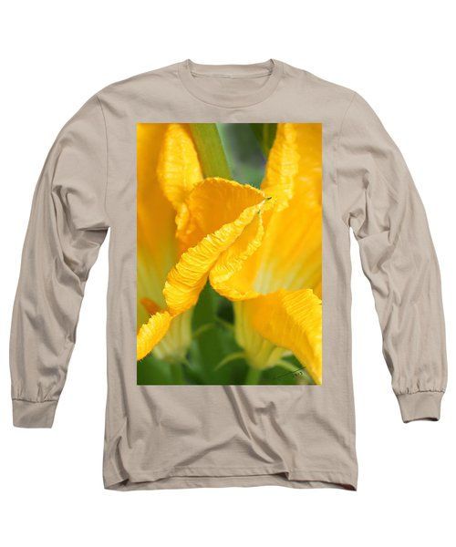 Zucchini Flowers In May Long Sleeve T-Shirt