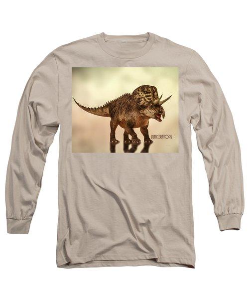 Zuniceratops Dinosaur Long Sleeve T-Shirt