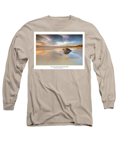 Dusk On The Beach Long Sleeve T-Shirt