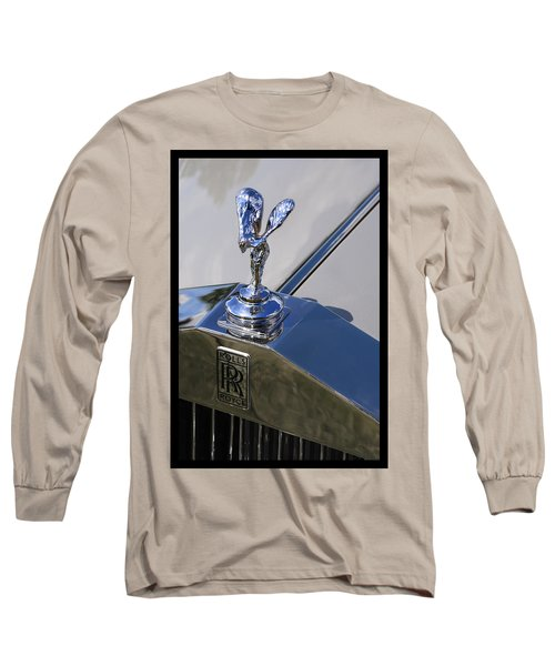 Long Sleeve T-Shirt featuring the photograph 1965 Rolls Royce Silver Cloud IIi Mpw Coupe by Gordon Dean II