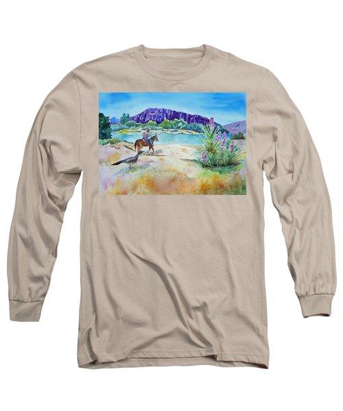 Texas - Along The Rio-grande Long Sleeve T-Shirt