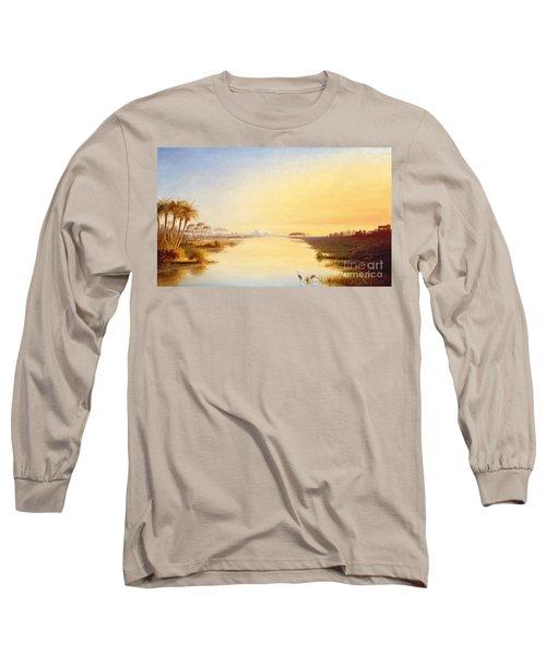 Egyptian Oasis Long Sleeve T-Shirt