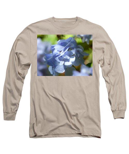 Long Sleeve T-Shirt featuring the photograph Hydrangea by Lynn Bolt