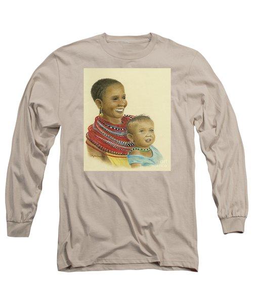 Masai Mom And Babe Long Sleeve T-Shirt