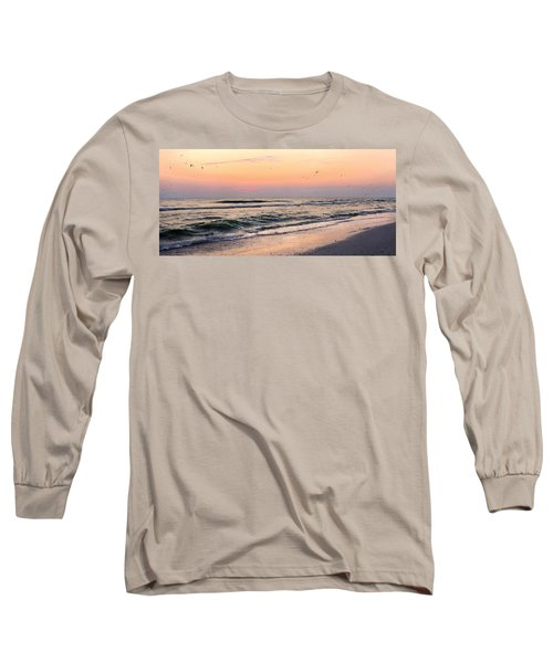 Postcard Long Sleeve T-Shirt by Angela Rath