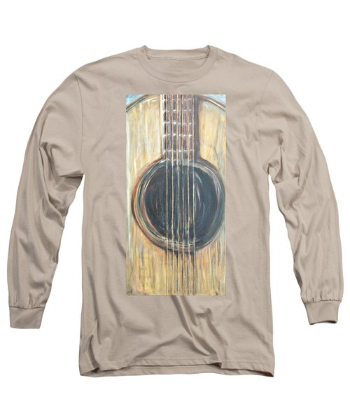 Strings Acoustic Sound Long Sleeve T-Shirt