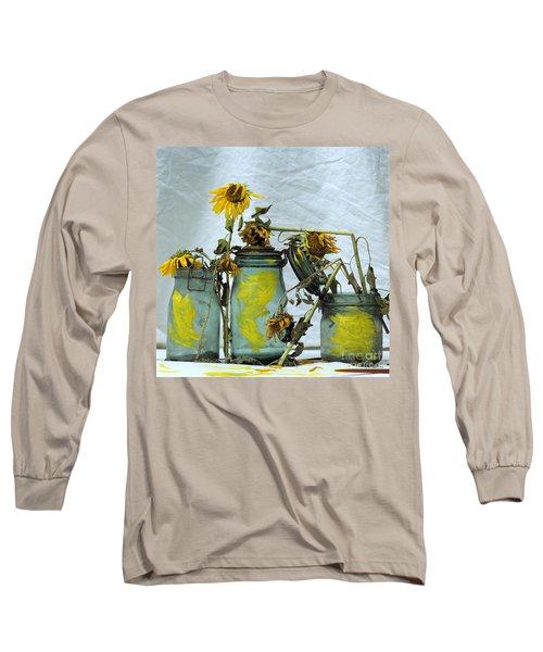 Sunflowers .helianthus Annuus Long Sleeve T-Shirt