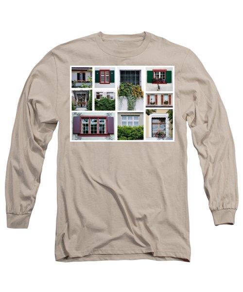 Swiss Windows Long Sleeve T-Shirt