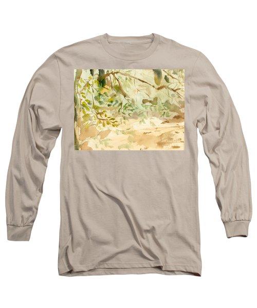 The Breeze Between Long Sleeve T-Shirt by Daun Soden-Greene
