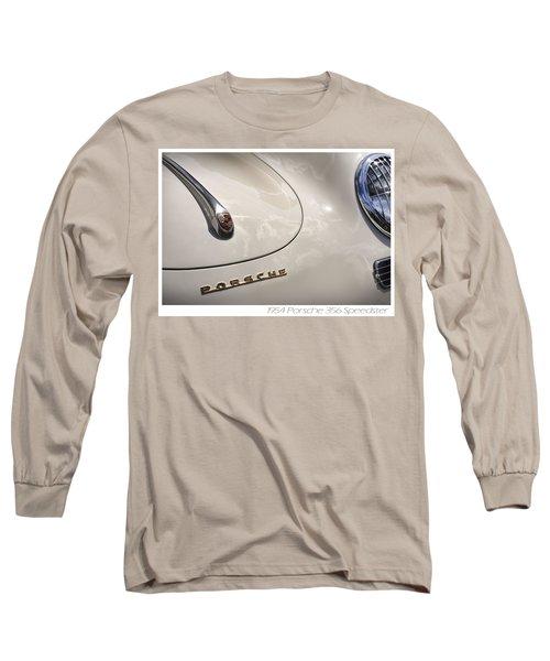 Long Sleeve T-Shirt featuring the photograph 1954 Porsche 356 Speedster by Gordon Dean II