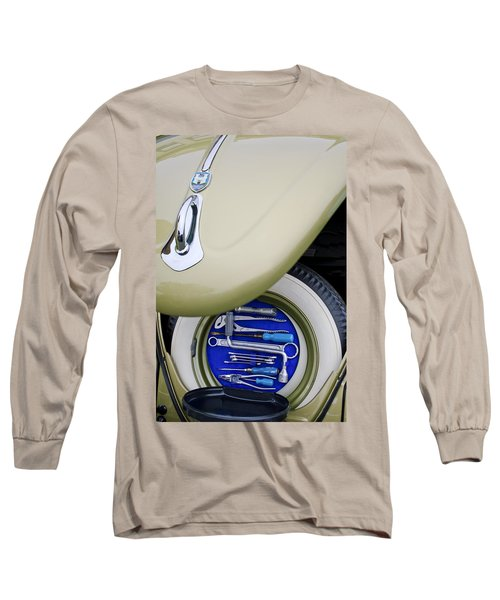 Long Sleeve T-Shirt featuring the photograph 1956 Volkswagen Vw Bug Tool Kit by Jill Reger