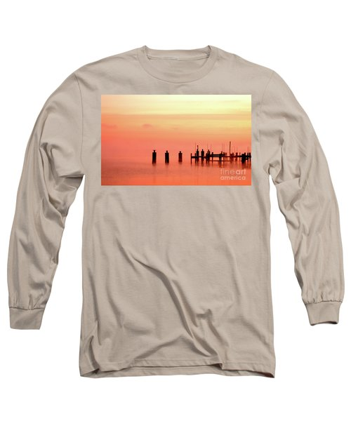 Eery Morn Long Sleeve T-Shirt by Clayton Bruster