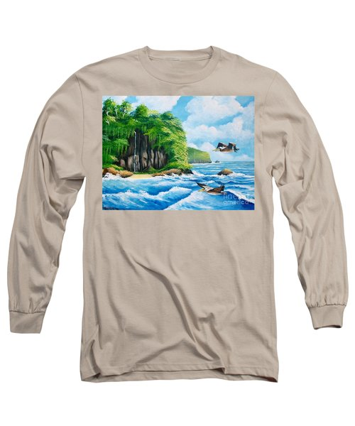 Treasure Island Long Sleeve T-Shirt