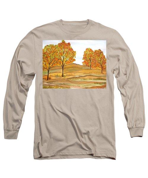 A Bit Of Fall Long Sleeve T-Shirt