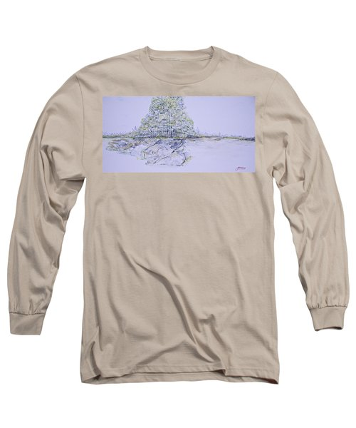 A Day In Central Park Long Sleeve T-Shirt