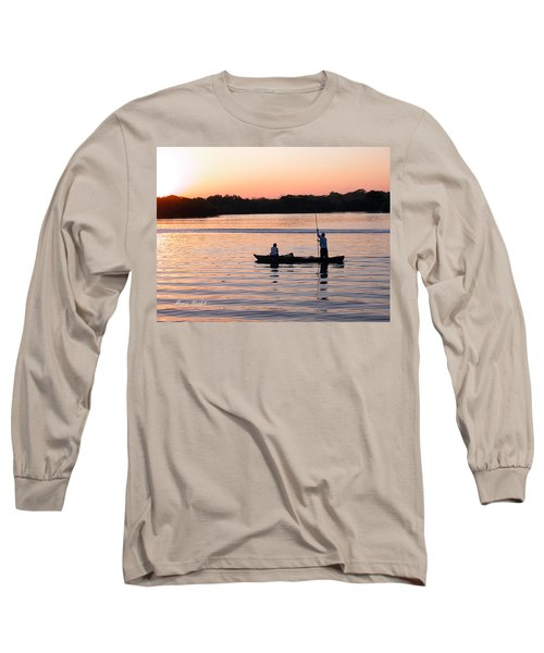 A Fisherman's Story Long Sleeve T-Shirt