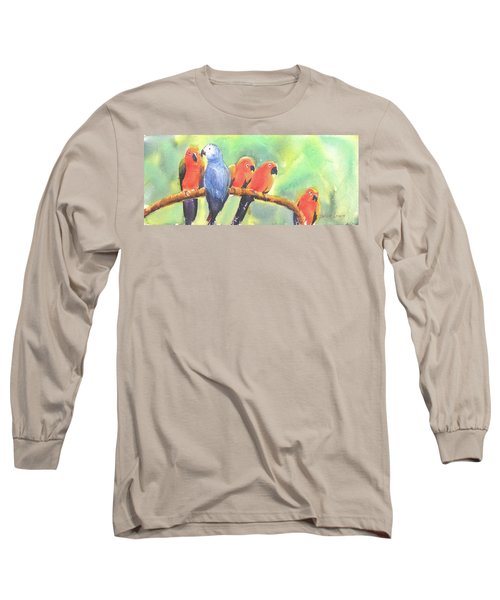 A New Slant On Life Long Sleeve T-Shirt