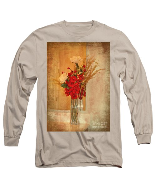 Long Sleeve T-Shirt featuring the photograph A Rose By Any Other Name by Kathy Baccari