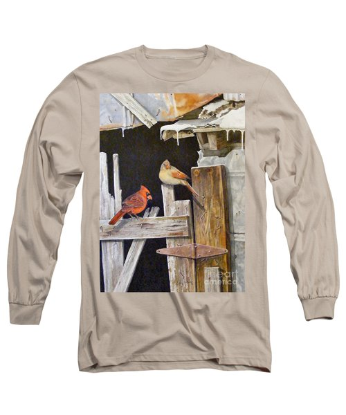 A Visit To Daddy's Barn  Sold Long Sleeve T-Shirt