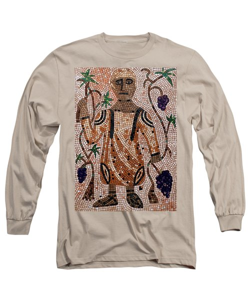 Long Sleeve T-Shirt featuring the painting A Wealthy Farmer by Cynthia Amaral