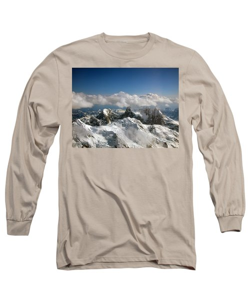 Long Sleeve T-Shirt featuring the photograph Above Mckinley by Kay Lovingood