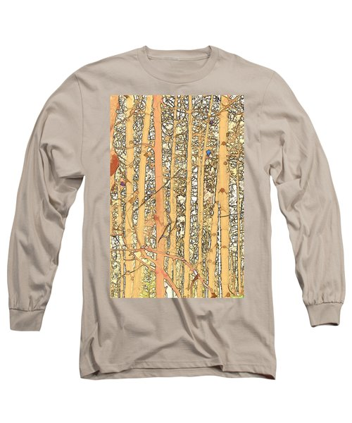 Abstract Aspens Long Sleeve T-Shirt