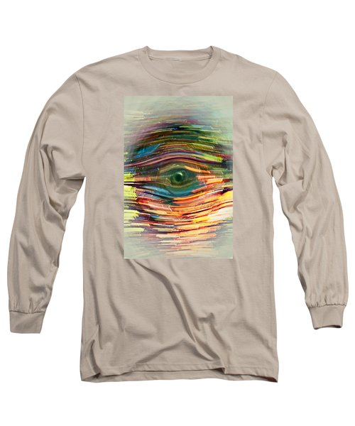 Abstract Eye Long Sleeve T-Shirt