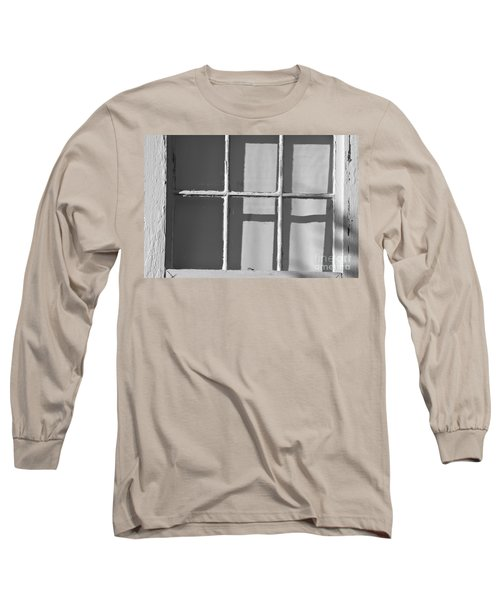 Abstract Window In Light And Shadow Long Sleeve T-Shirt