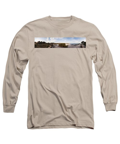 Access To The Beach Of Es Trenc Long Sleeve T-Shirt