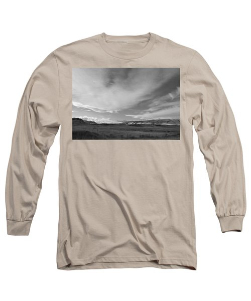 Long Sleeve T-Shirt featuring the photograph Across The Valley by Kathleen Grace