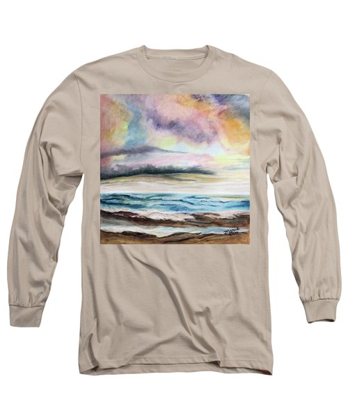 Afternoon Sky Long Sleeve T-Shirt by Maris Sherwood
