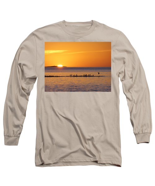 Long Sleeve T-Shirt featuring the photograph Agua Verde Sunrise by Anne Mott