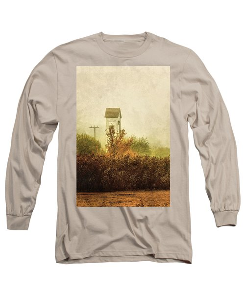 Ancient Transformer Tower Long Sleeve T-Shirt