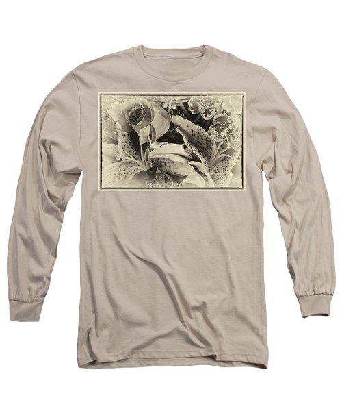 Antique Bouquet Long Sleeve T-Shirt