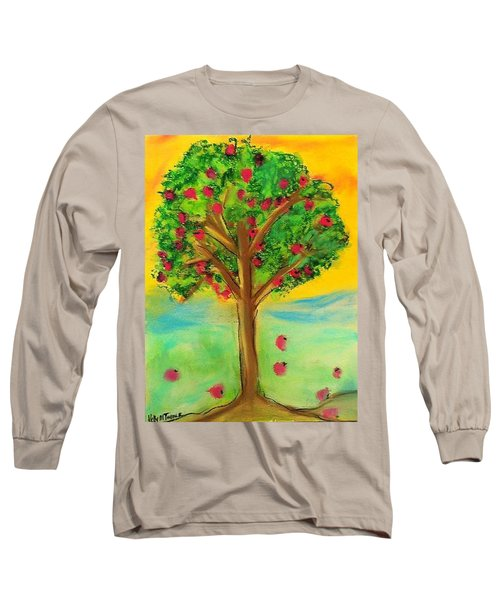 Apple Tree Long Sleeve T-Shirt