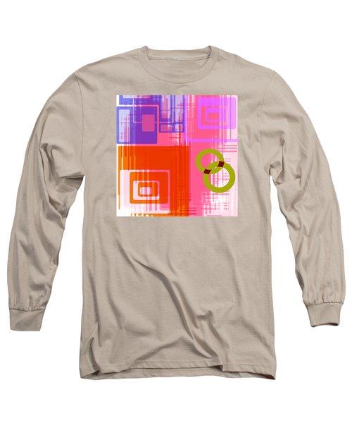 Long Sleeve T-Shirt featuring the digital art Art Deco Style Digital Art by Susan Leggett