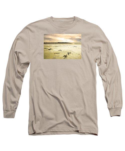 At Caroline Bay Timaru New Zealand Long Sleeve T-Shirt by Nareeta Martin