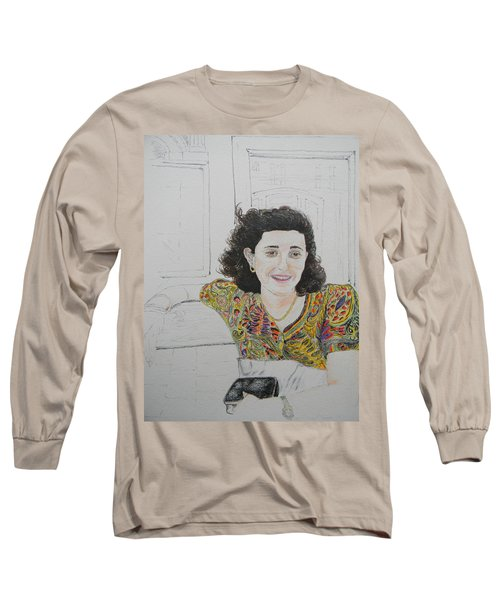 At The Cafe' Centrale Long Sleeve T-Shirt