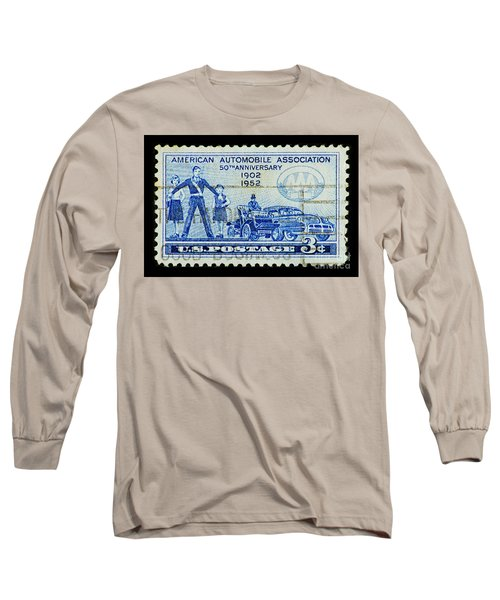 Long Sleeve T-Shirt featuring the photograph Automobile Association Of America by Andy Prendy