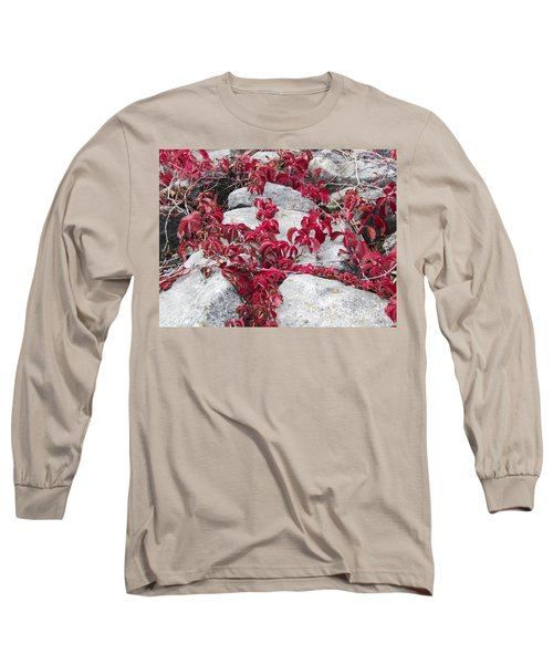 Autumn Color Is Red Long Sleeve T-Shirt