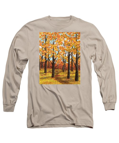 Autumn Meadow Long Sleeve T-Shirt
