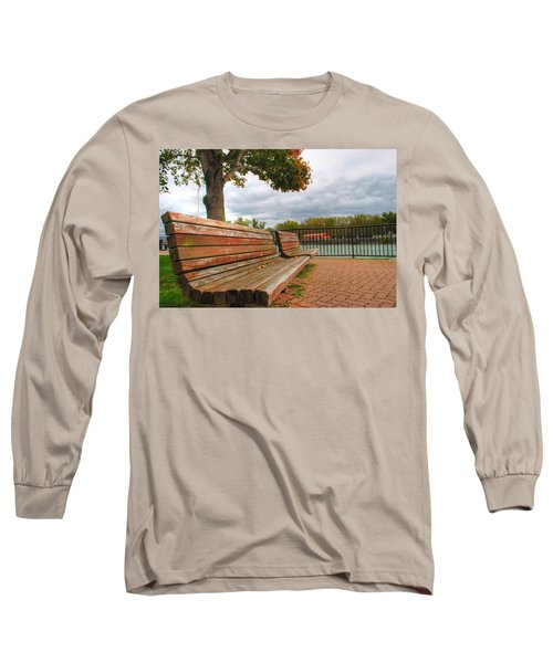 Long Sleeve T-Shirt featuring the photograph Awaiting by Michael Frank Jr