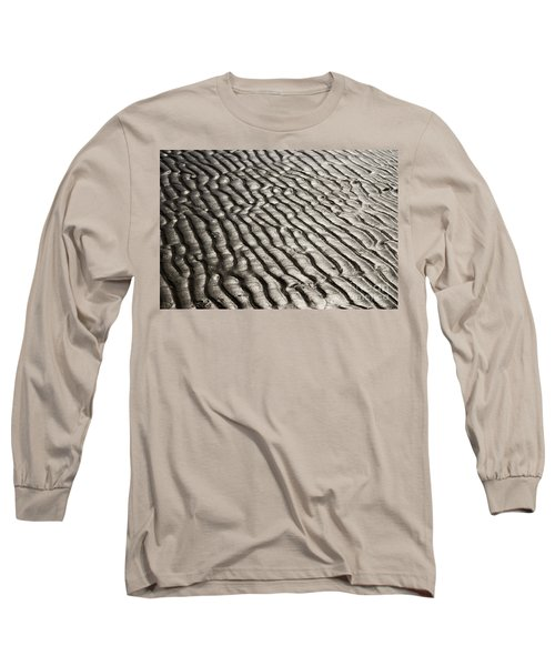 Long Sleeve T-Shirt featuring the photograph Beach Sands by Fotosas Photography