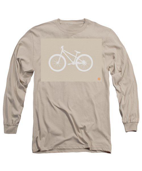 Bicycle Brown Poster Long Sleeve T-Shirt
