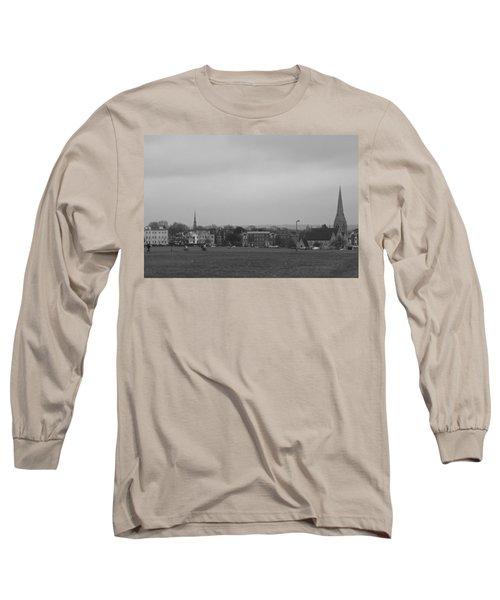 Long Sleeve T-Shirt featuring the photograph Blackheath Village by Maj Seda