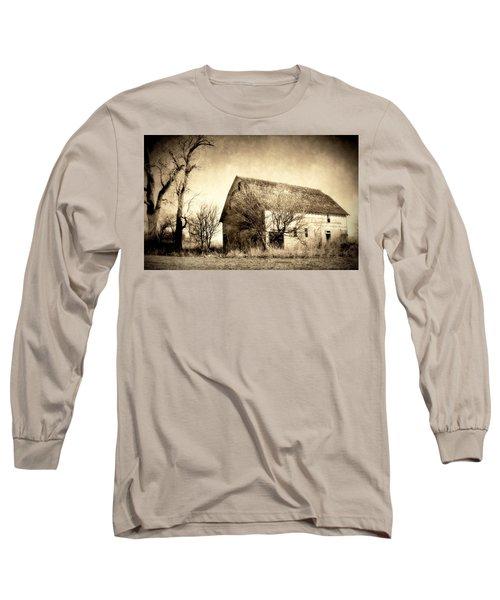 Block Barn Long Sleeve T-Shirt
