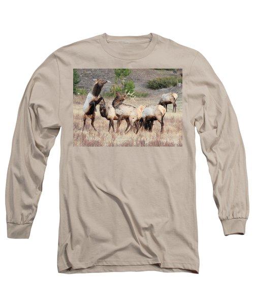 Boxing Match Long Sleeve T-Shirt