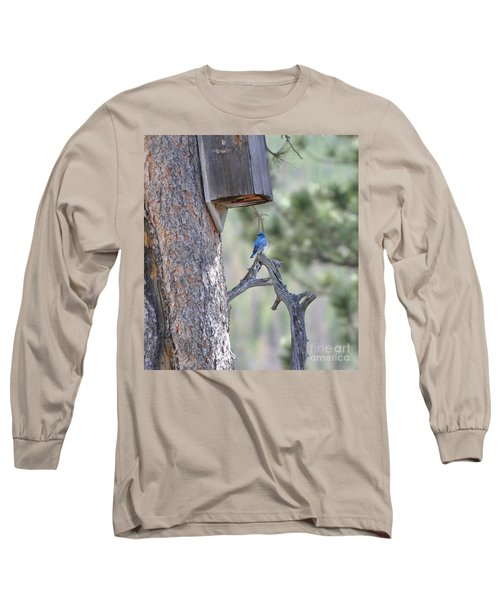 Boy Blue Long Sleeve T-Shirt